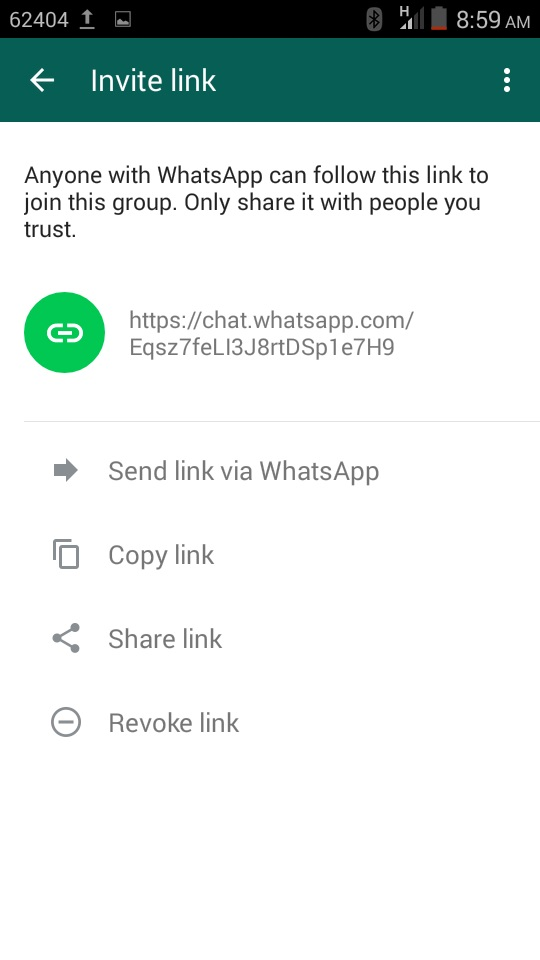 How To Invite People To A Whatsapp Group Chat With A Link Ransbiz