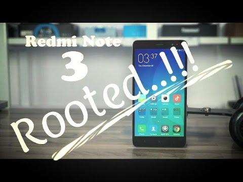 Kamu Bingung Cara Root V7.0.16.0 MIUI 7.1 Redmi Note 3 Ini Tutorial Mudah Root Redmi Note 3 Tanpa PC