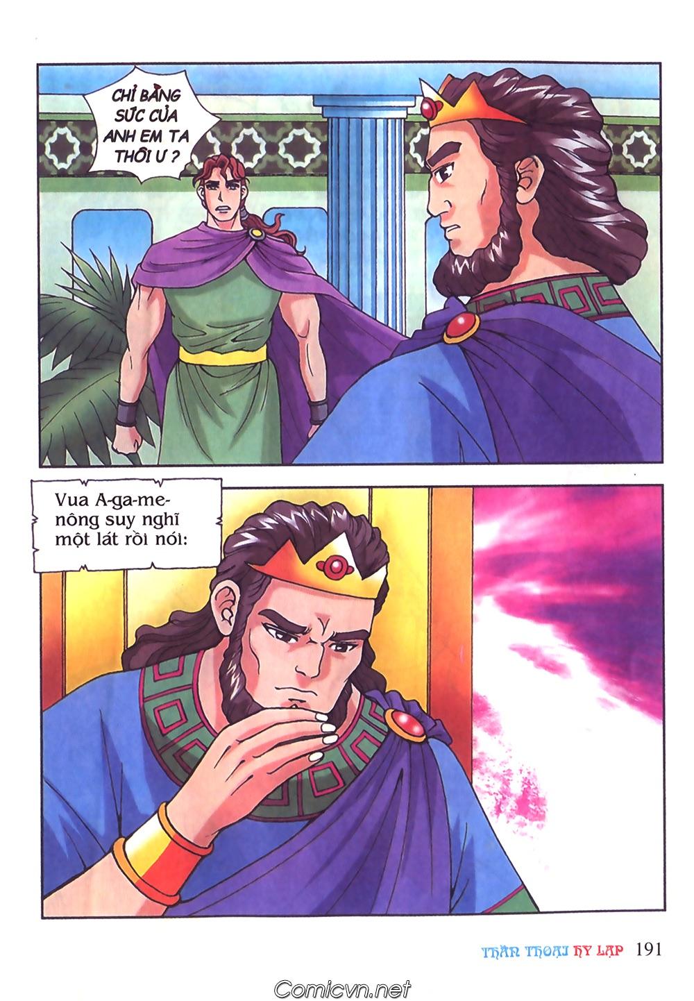 Thần Thoại Hy Lạp Màu - Chapter 51: Nàng công chúa Helen - Pic 30