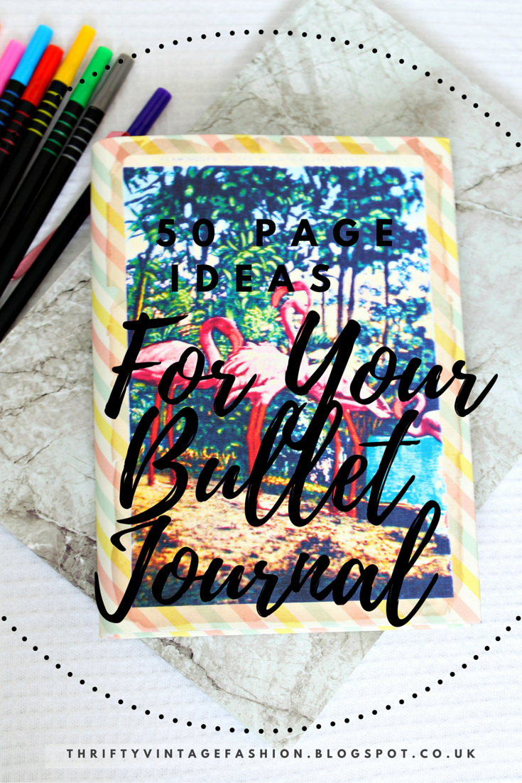 50 Page Ideas For Your Bullet Journal inspiration Boho Berry ideas Pinterest bloggers UK