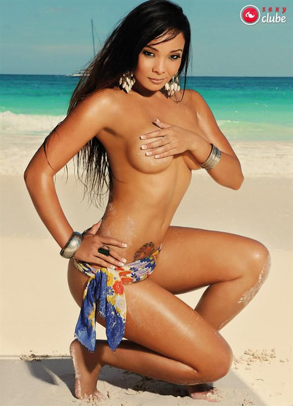 Carol Nakamura pelada Sexy