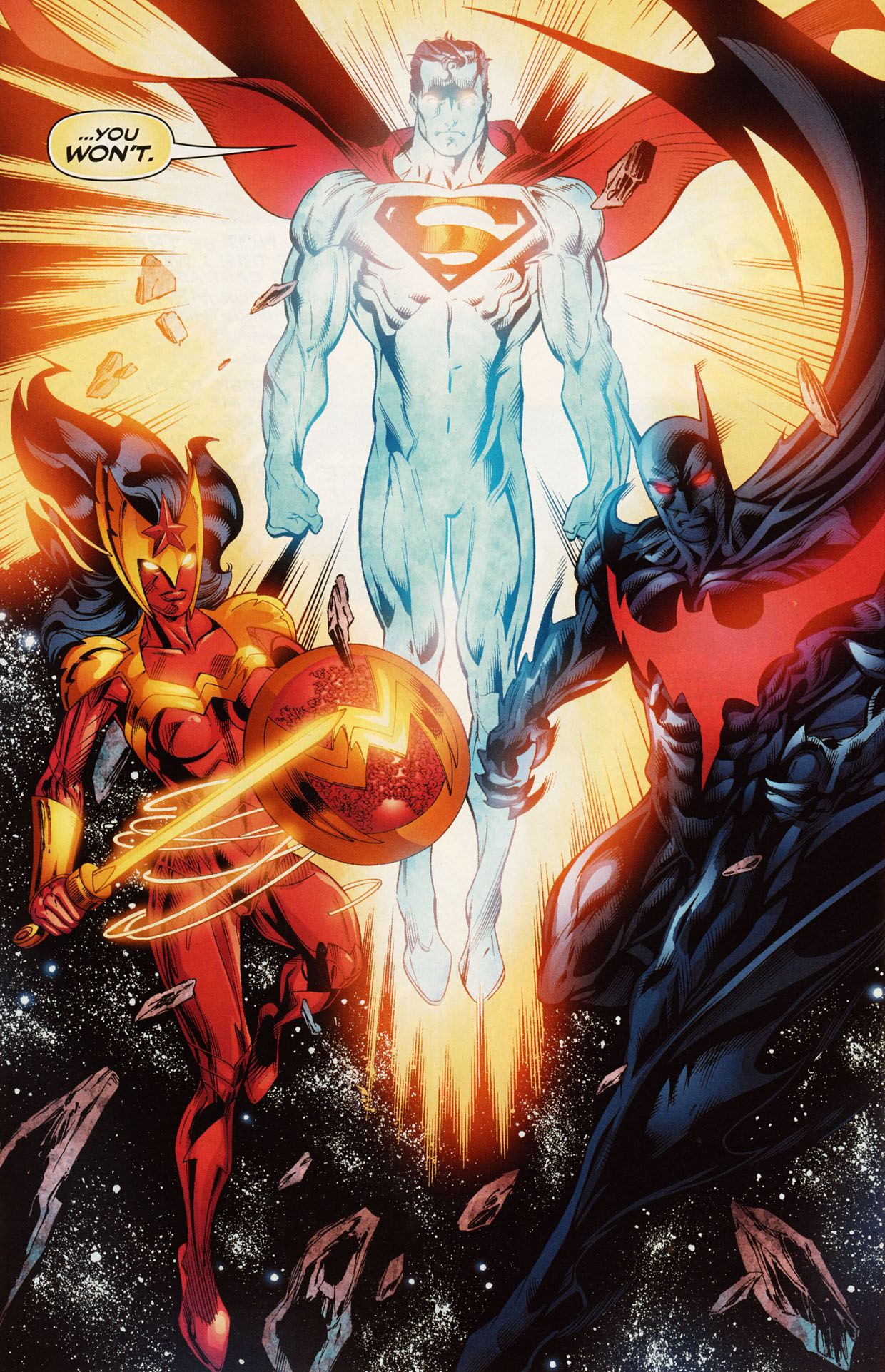 Read online Trinity (2008) comic -  Issue #50 - 20