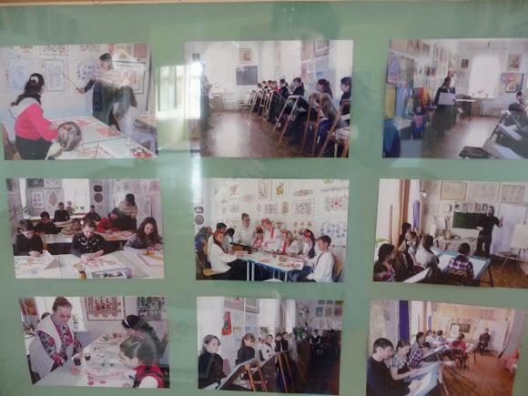 Петріківка. Центр народної творчості «Петріківка». Художня школа