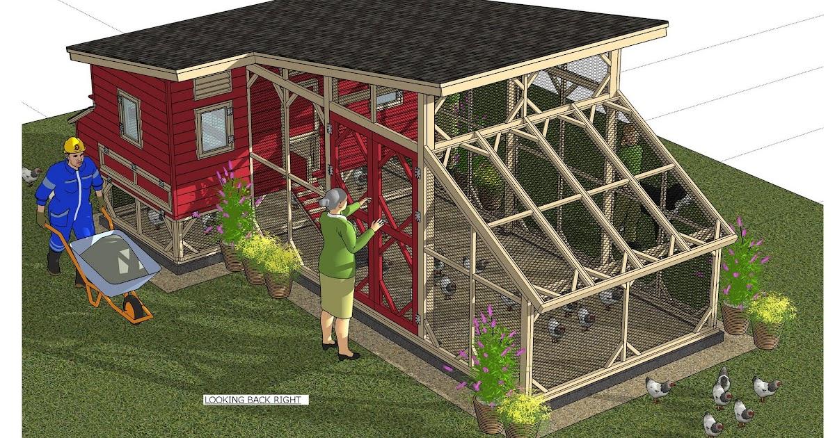 Home Garden Plans M105 Chicken Coop Plans Chicken