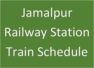jamalpur station train schedule