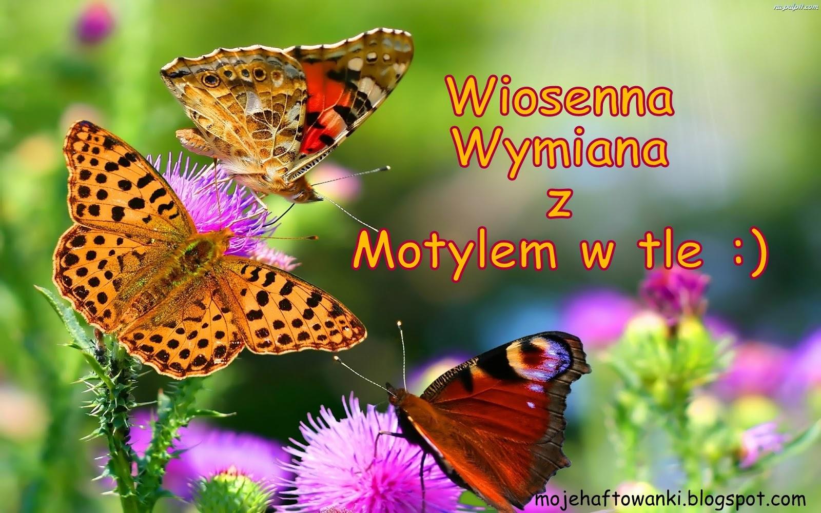 Wymiana z motylem w tle :)