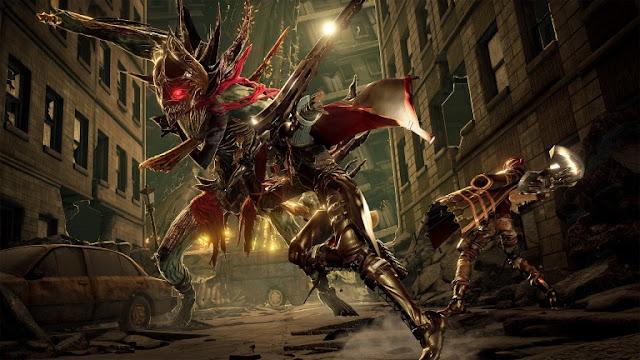 لنلقي نظرة بالصور على لعبة Code Vein القادمة بأسلوب سلسلة Dark Souls