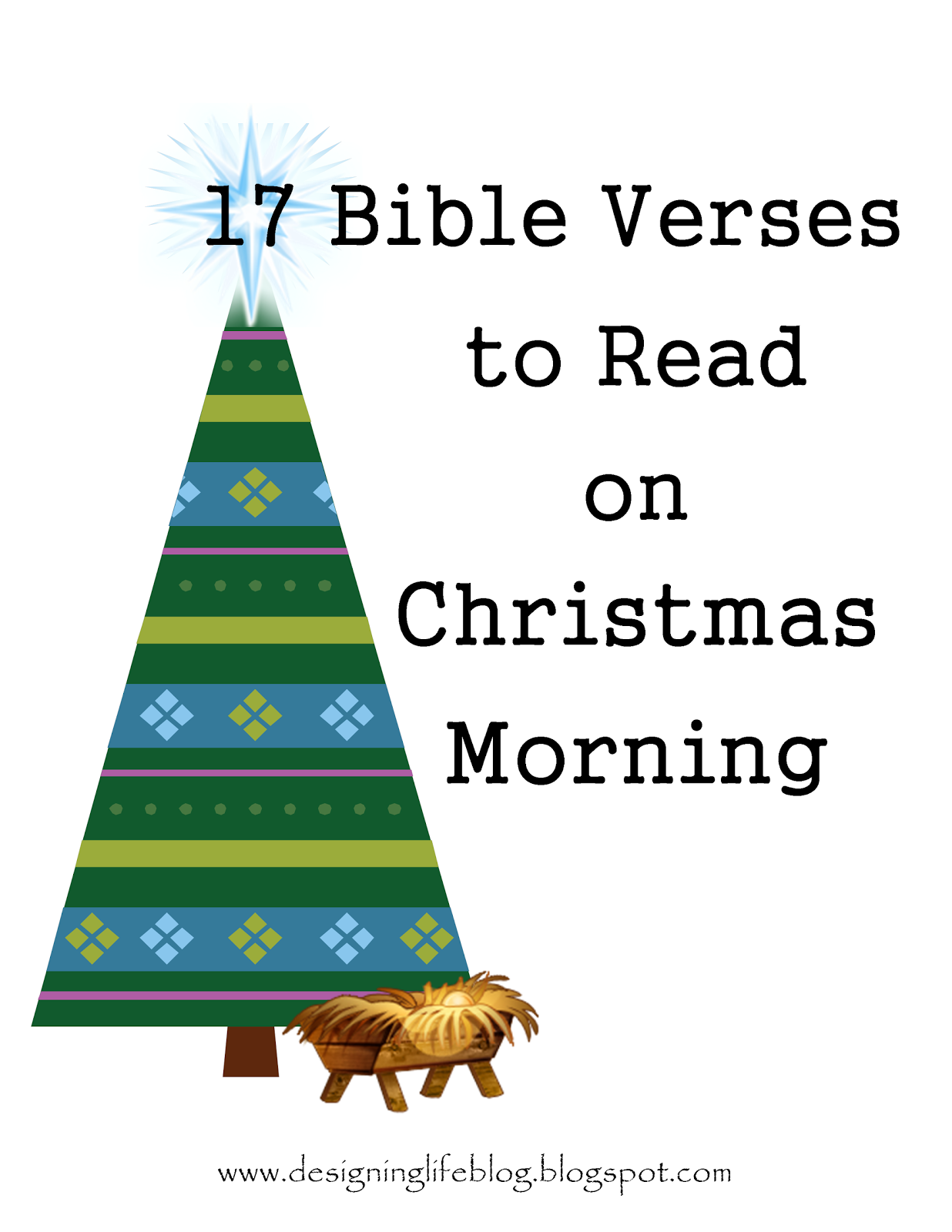 Designing Life 17 Bible Verses To Read On Christmas Morning