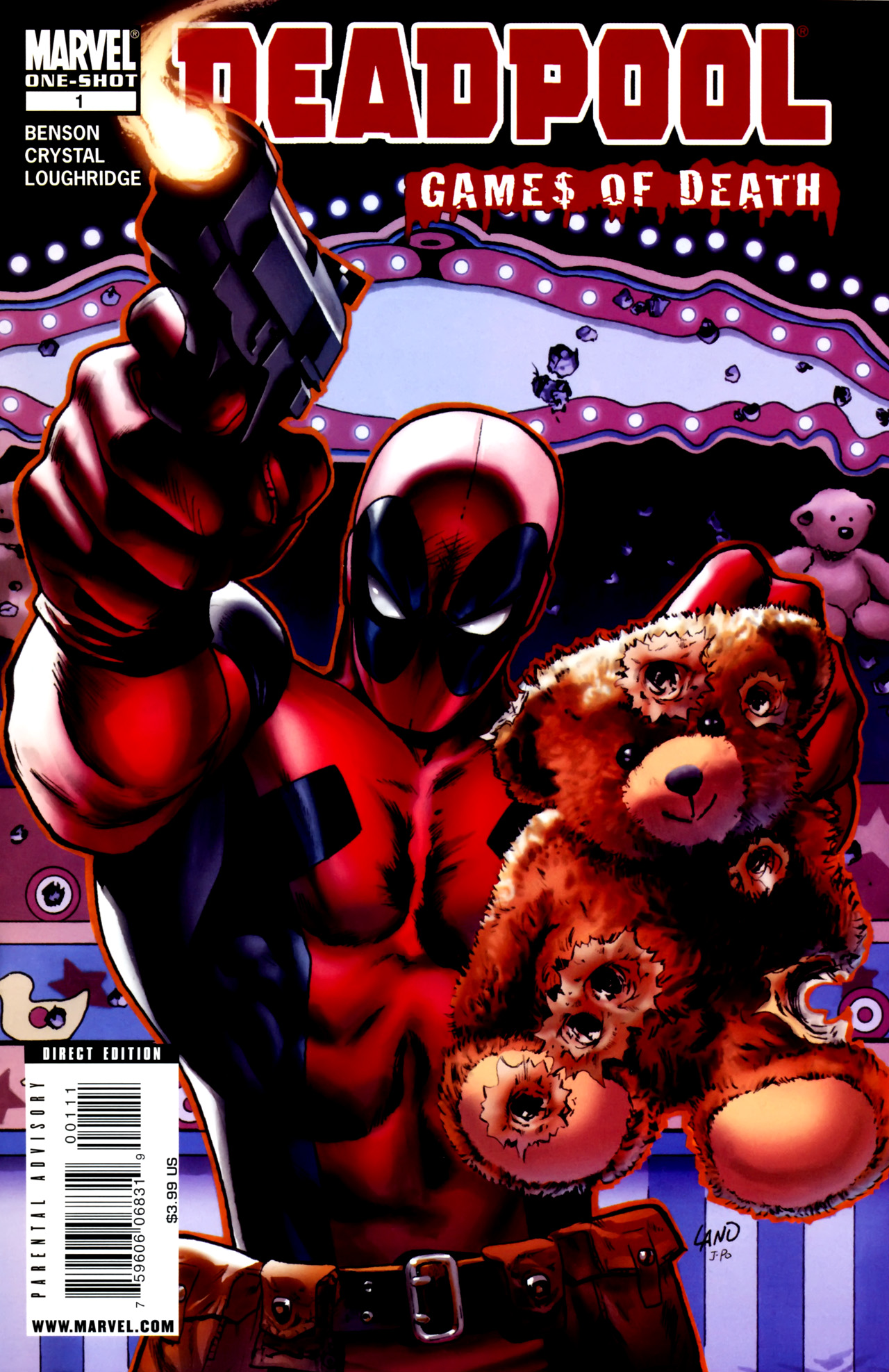 Deadpool: Games of Death Full Page 1