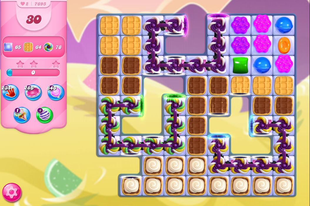 Candy Crush Saga level 7695