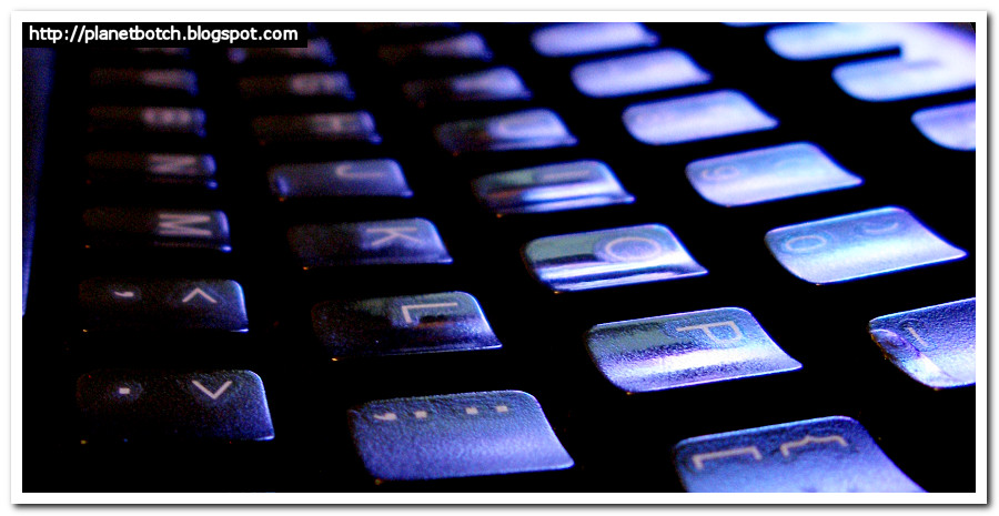 The Keyboard Warrior's Keyboard