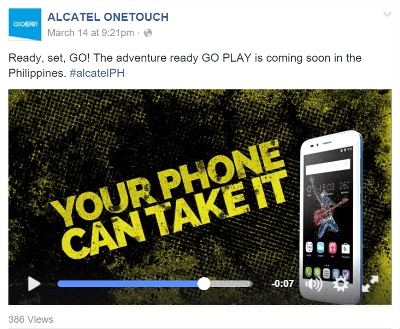 Alcatel One Touch Go Play To Arrive In The Philippines