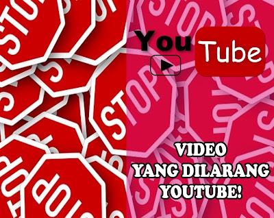 10 Larangan Youtube yang harus dihindari Agar akun youtube gak dibanned