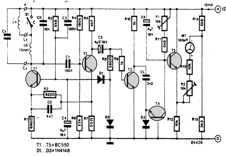 counter circuit diagram using a single ic 4033 homemade circuit