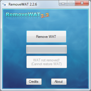 RemoveWAT.