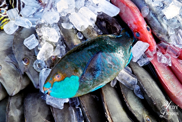 Parrot Fish at City Baywalk Park Best Restaurants in Puerto Princesa Palawan Philippines YedyLicious Manila Food and Travel Blog