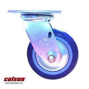 Bánh xe đẩy hàng nhựa PU 150 chịu lực 370kg | S4-6209-925P