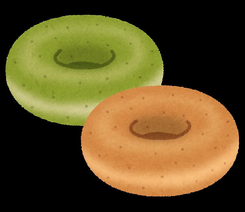 焼きドーナツのイラスト かわいいフリー素材集 いらすとや