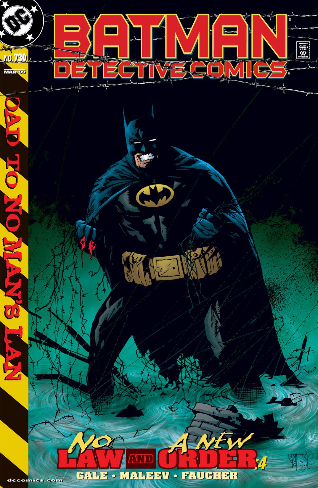 Detective Comics (1937) 730 Page 0