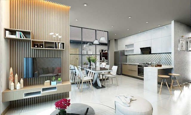 Thiết kế của căn hộ Vincity