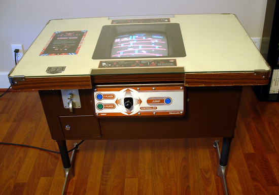 Donkey Kong cocktail table