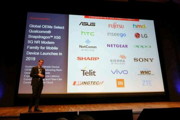Qualcomm X50 5G NR Modem Family Partners