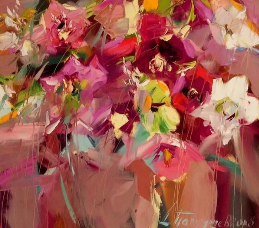 Fotos De Flores Para Pintar Al Oleo Tocados De Pelo Para Fiestas