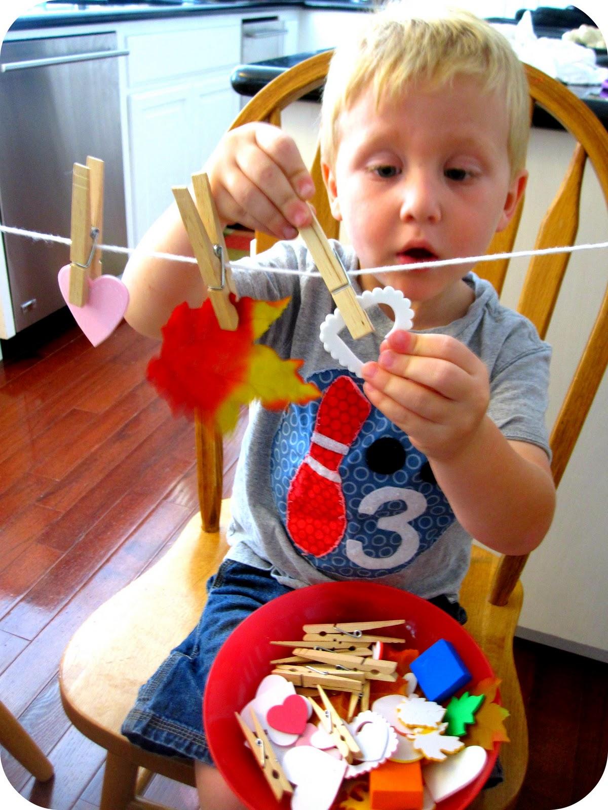 Toddler Approved Quick Challenge Leaf Patterns