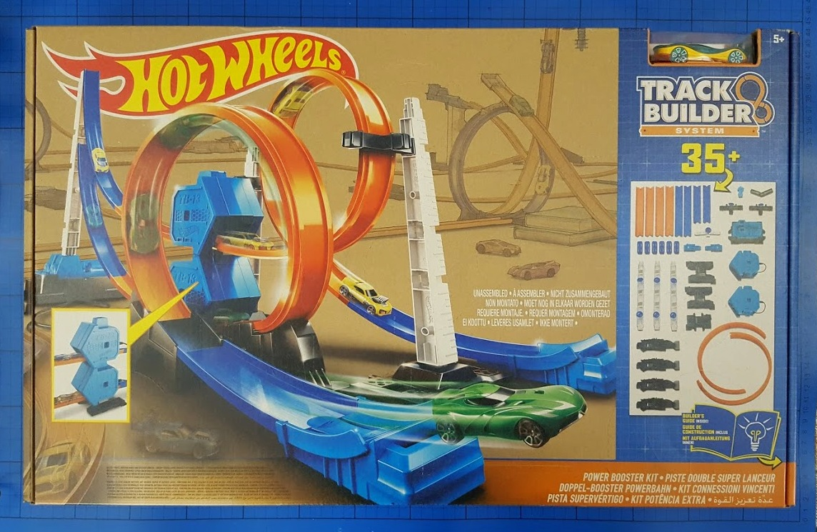 The Brick Castle: Hot Wheels Track Builder System - Power ...