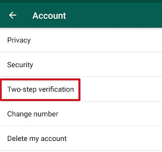 2 step verification, hide fitchur in whatsapp, whatsapp