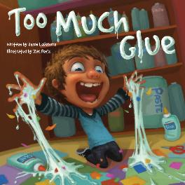 Too Much Glue  - 10 Books For Boys