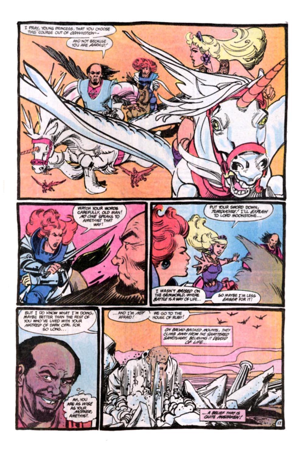 Read online Amethyst, Princess of Gemworld comic -  Issue #8 - 18