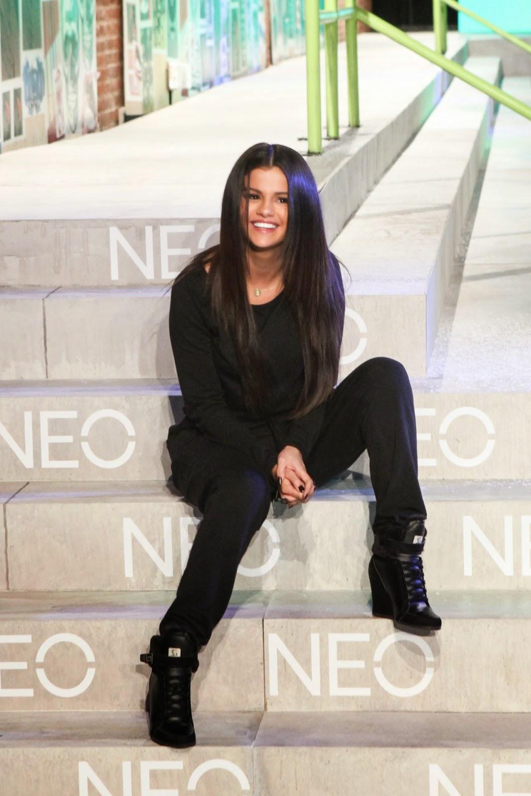 Selena Gomez: Adidas Neo 2015 04 | GotCeleb