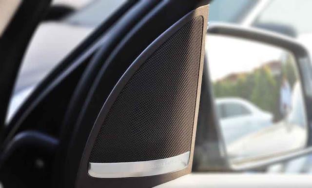 Mercedes GLS 350d 4MATIC 2018 sử dụng Âm thanh Harman Kardon® Logic7® 14 loa