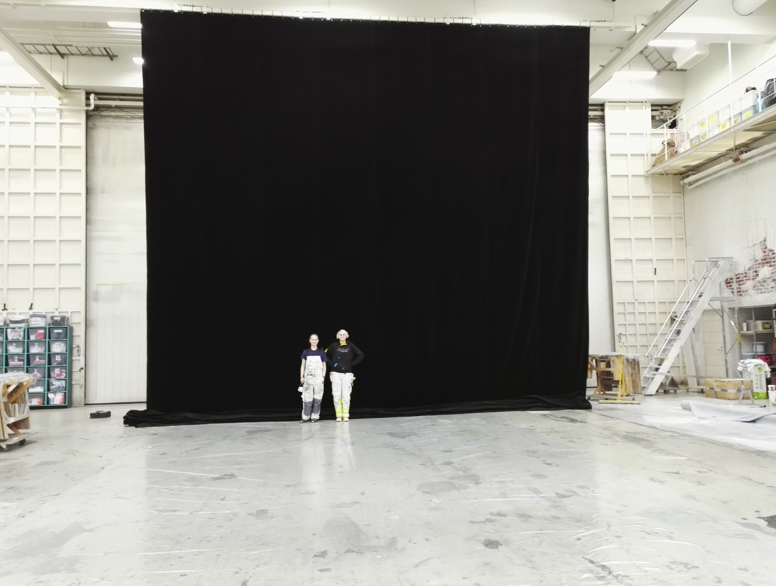 Maalasimme seinän valkoiseksi. 2edfc3a461