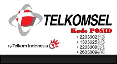 Kode POSID Untuk Telkomsel