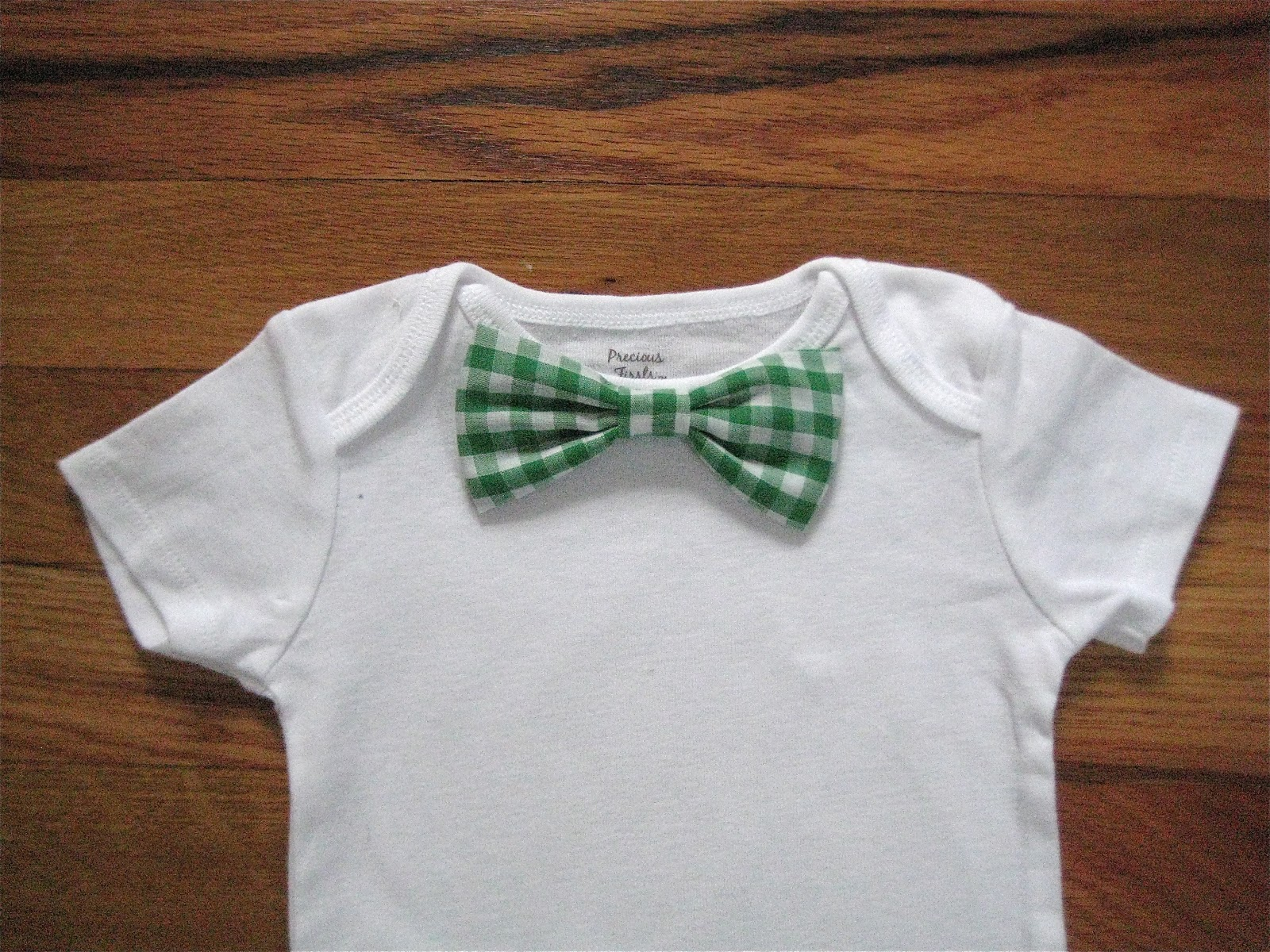 Little And Lovely Bow Tie Onesies Even More