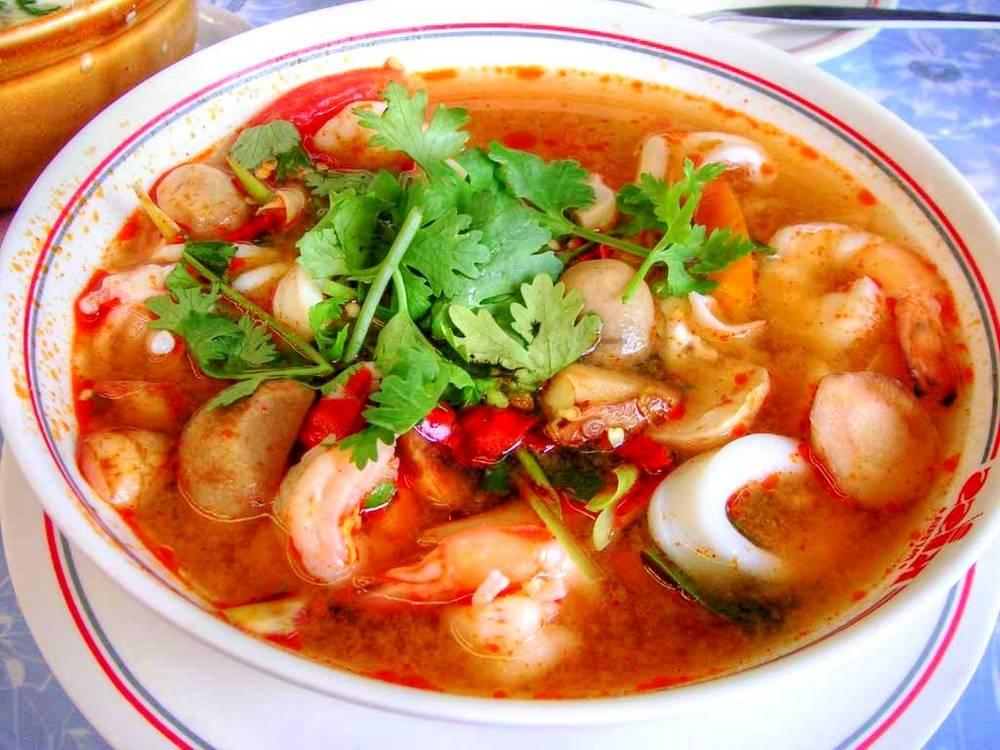 Tom Yam Seafood (resepdanmasakan.com)