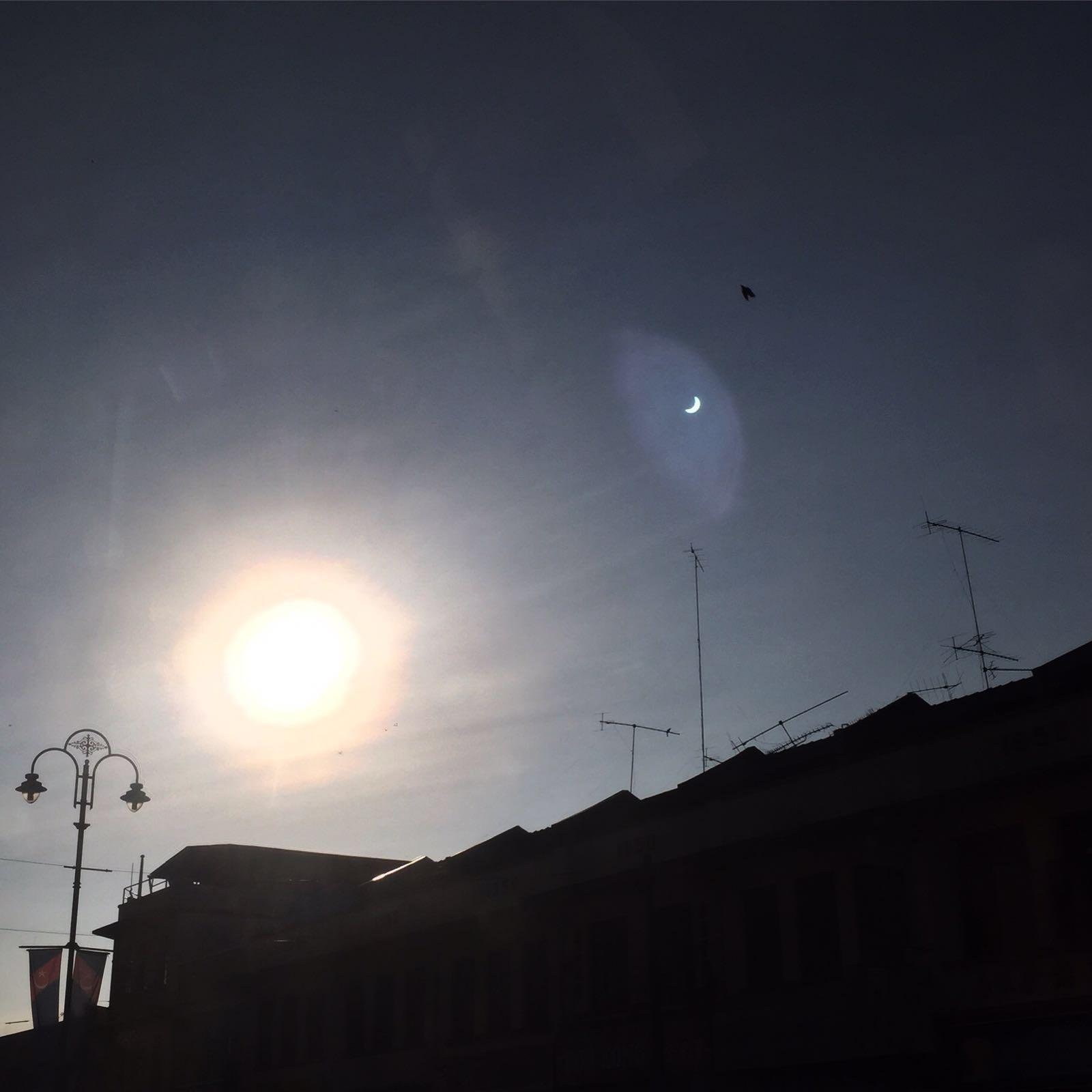 Gambar Gerhana Matahari 9 Mac 2016