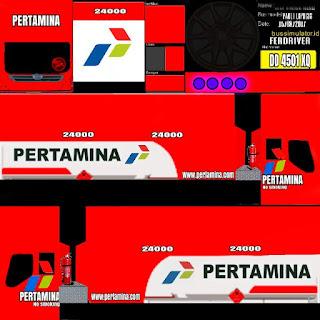Download Livery Bus Pertamina