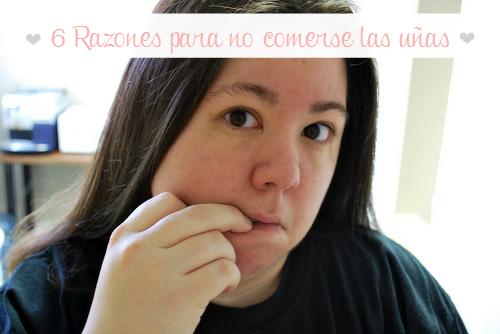6 Razones para no comerse las uñas