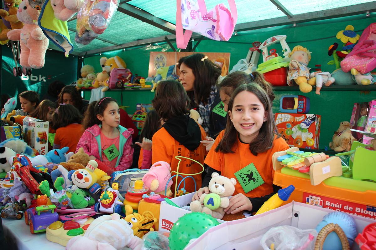 Rastrillo Infantil Solidario en 2015