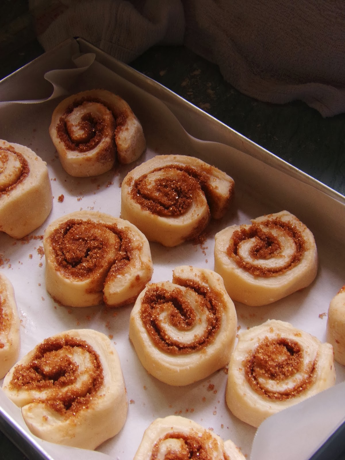 homemade cinnamon rolls from scratch