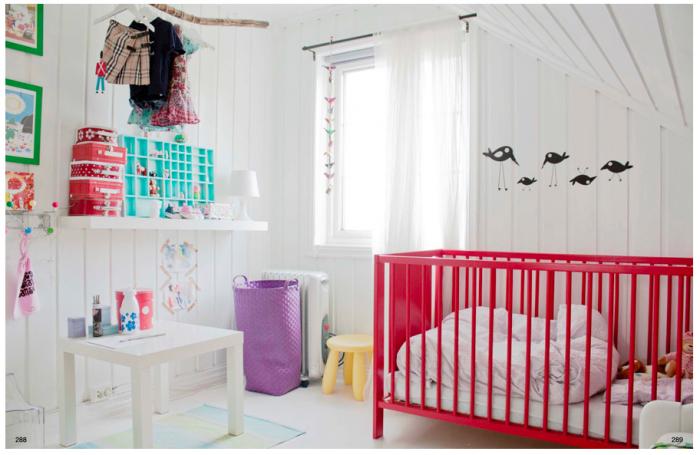 Hogares frescos 100 dise os de habitaciones para ni as for Cuartos para ninas simples