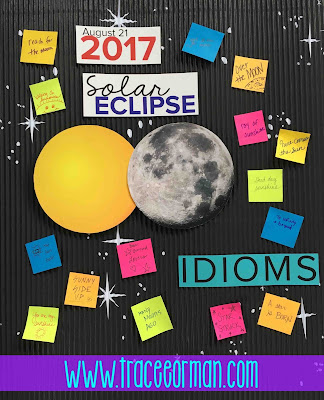 Solar Eclipse Activities for ELA teachers www.traceeorman.com