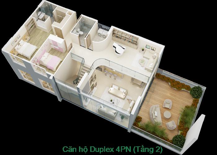 Căn hộ Duplex tầng 2 Mỹ Đình Pearl