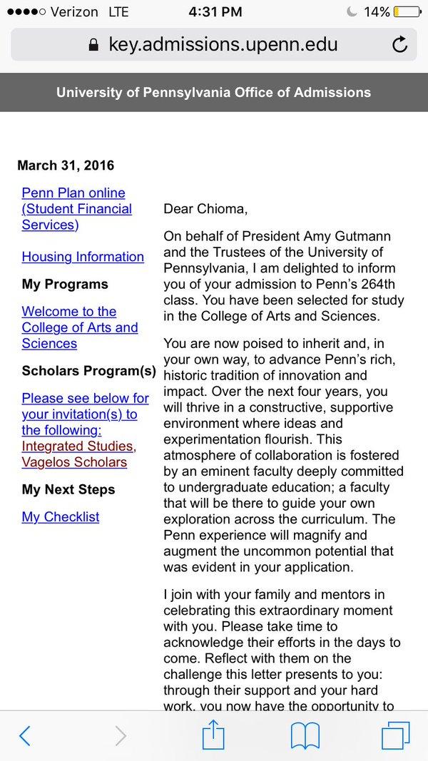 Ivy League Schools Admissions?