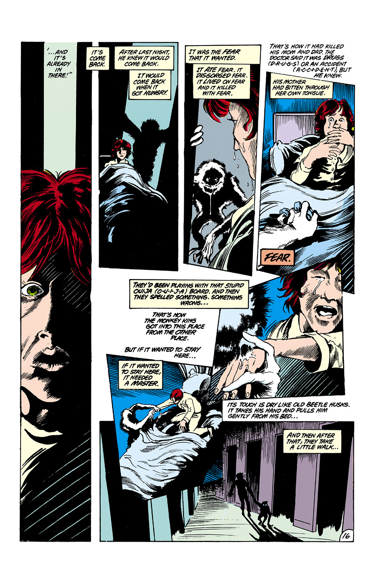 Swamp Thing (1982) Issue #26 #34 - English 16