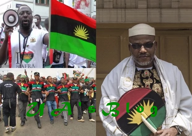 IPOB spits fire, announces February 16 as referendum day