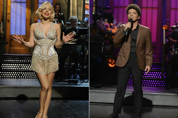 Lady Gaga y Bruno Mars se presentarán en Saturday Night Live